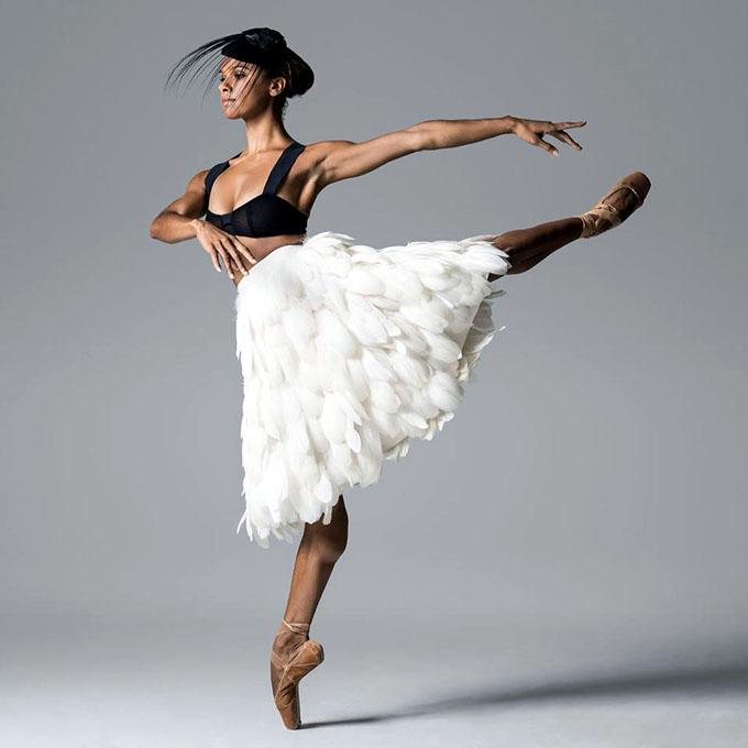 Intercambia Misty Copeland con integrantes  del Ballet Nacional