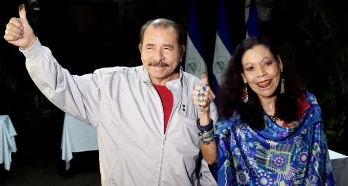 Cuba y Venezuela felicitan a Daniel Ortega por reelección