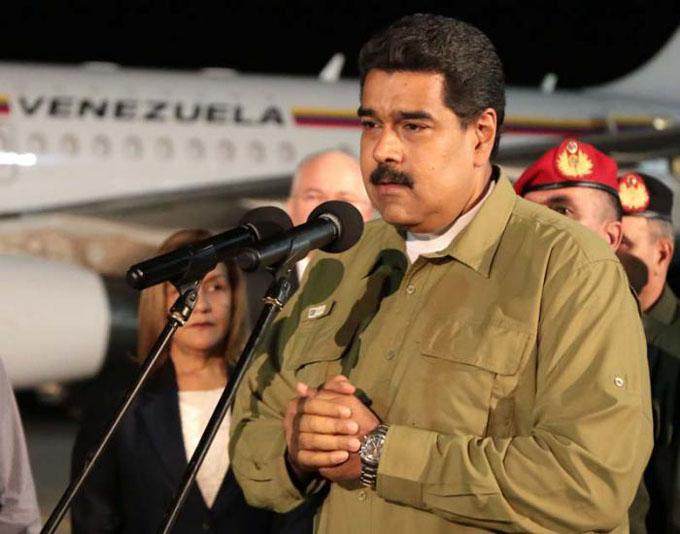 Arriba Nicolás Maduro a Cuba para despedir al Comandante en Jefe Fidel Castro