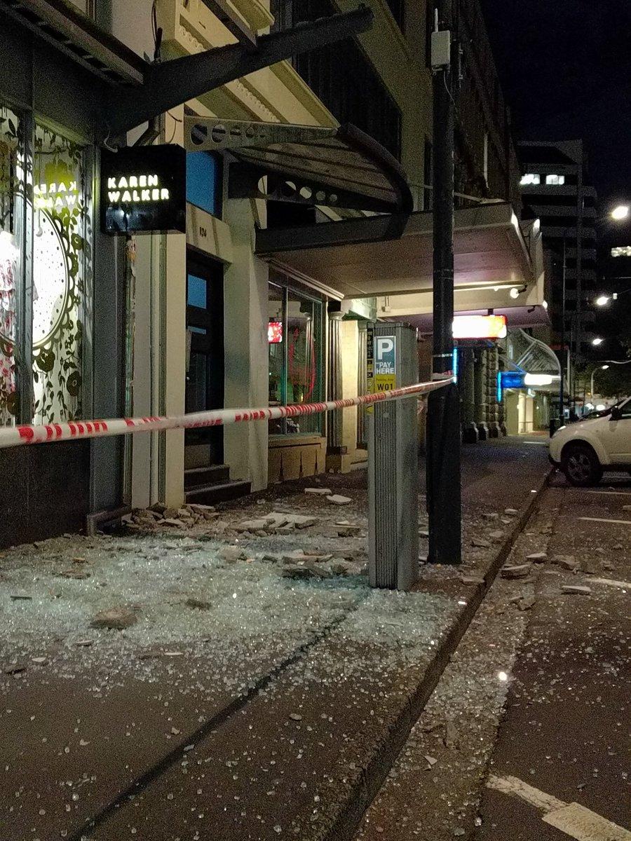 Un fuerte sismo de magnitud 7,9 sacude Nueva Zelanda