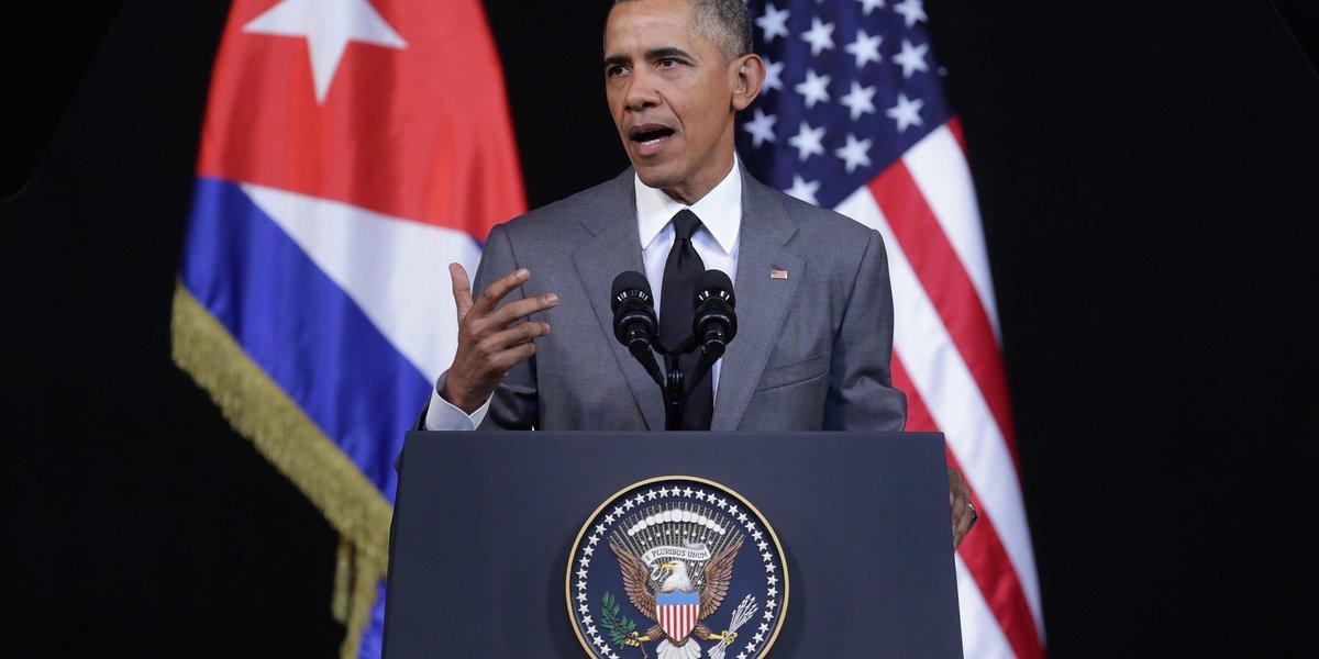 Obama expresa condolencias por muerte de Fidel Castro