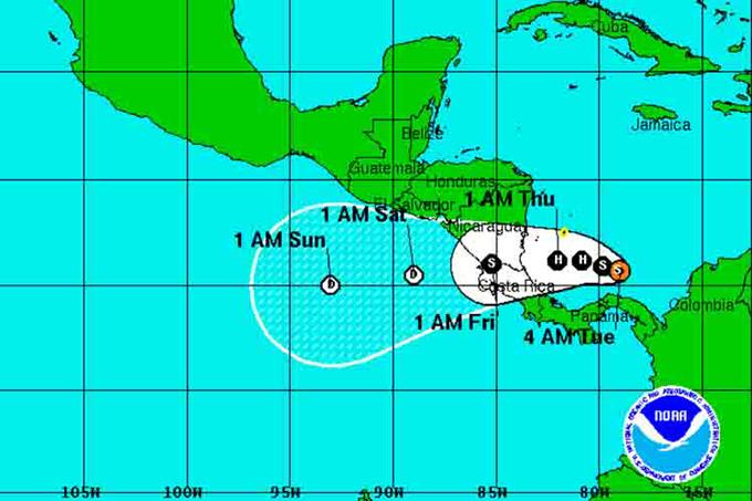 Tres muertos y un desaparecido por mal tiempo en Panamá