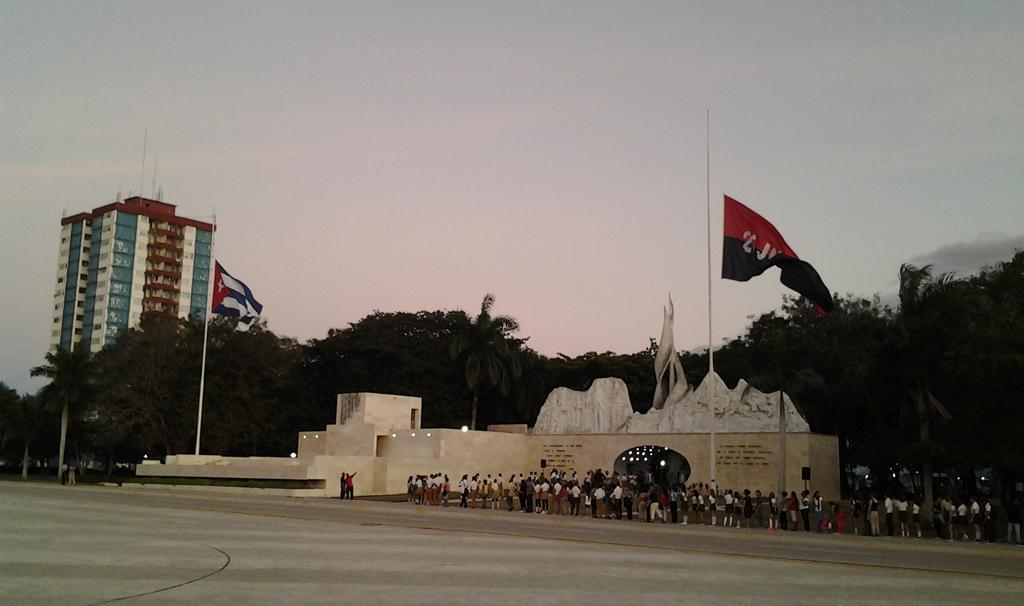 Tributo a Fidel en Bayamo 1