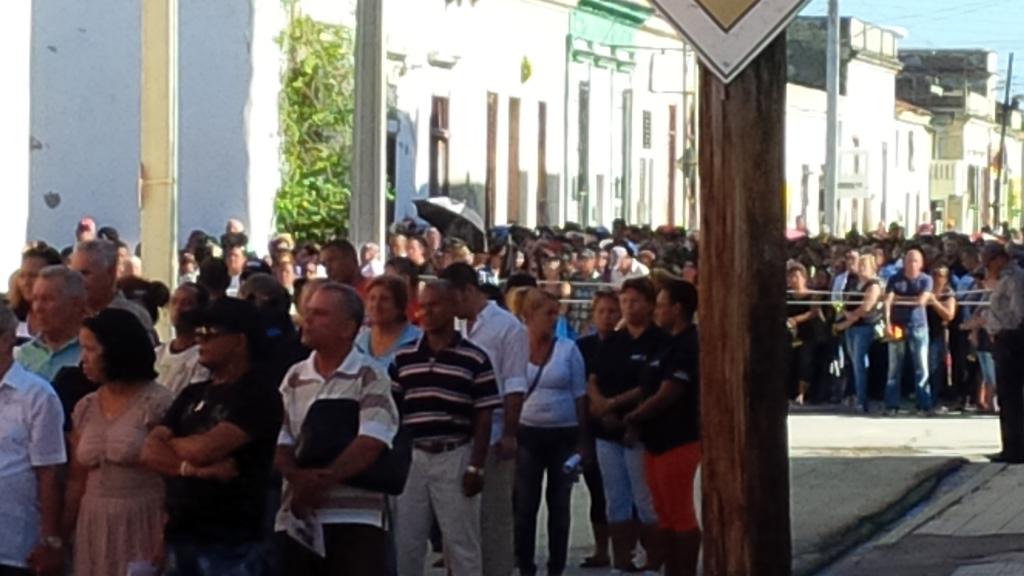 Tributo a Fidel en Manzanillo