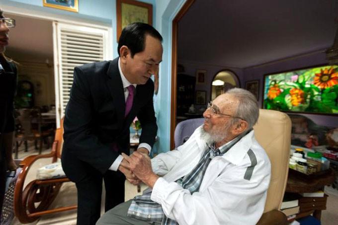Vietnam Cuba Fidel