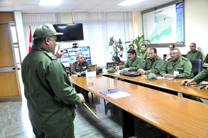 Realizan  primera jornada del Ejercicio estratégico  Bastión 2016 en Granma