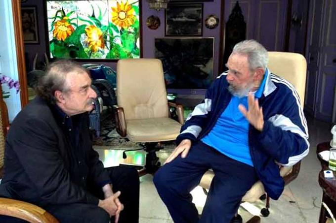 Fidel fue el defensor de la dignidad latinoamericana, afirma Ramonet