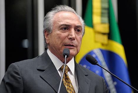 Con Temer al mando economía brasileña sufre peor desempeño histórico