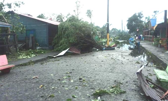 Nicaragua inicia tareas de recuperación tras paso de huracán Otto