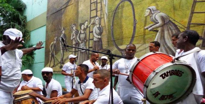 Los tambores de Bejucal graban un nuevo disco