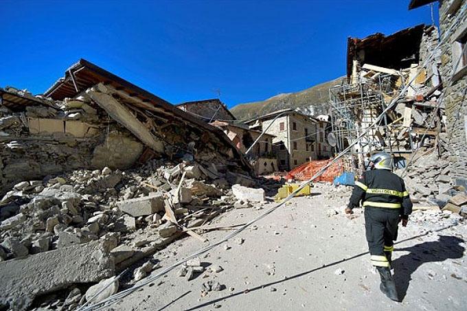 Balance preliminar de daños causados por terremoto en Italia