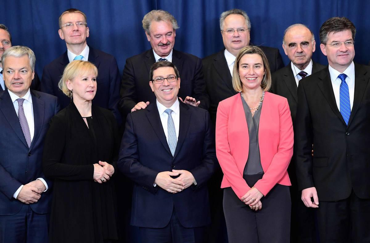 Firmarán Cuba y la Unión Europea acuerdo de diálogo y cooperación