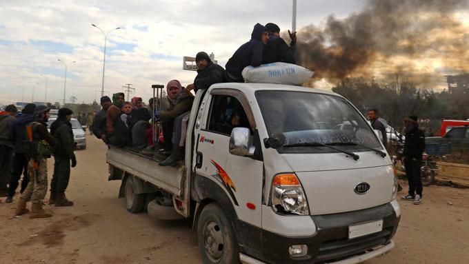 Termina la evacuación en Alepo: 3.406 rebeldes deponen sus armas