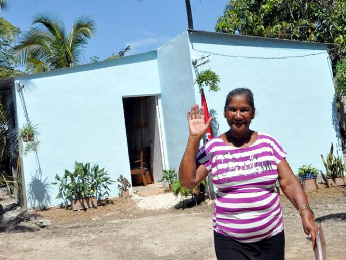 Mayor cifra de viviendas en Granma mediante subsidios