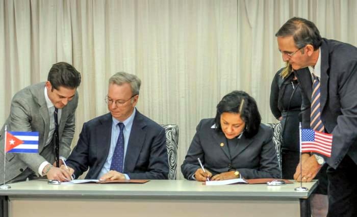 Firman ETECSA y Google acuerdo para mejora de sus servicios en Cuba (+ Video)