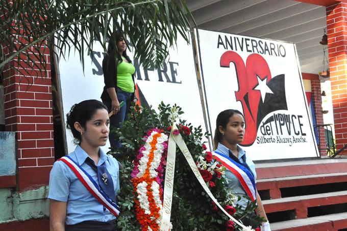 Ofrenda Floral para el Maestro, José MartíFOTO/Rafael Martínez Arias