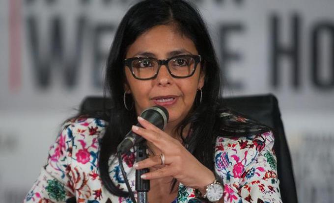 Delcy Rodríguez: A Venezuela le asiste el derecho y la razón histórica para estar en Mercosur