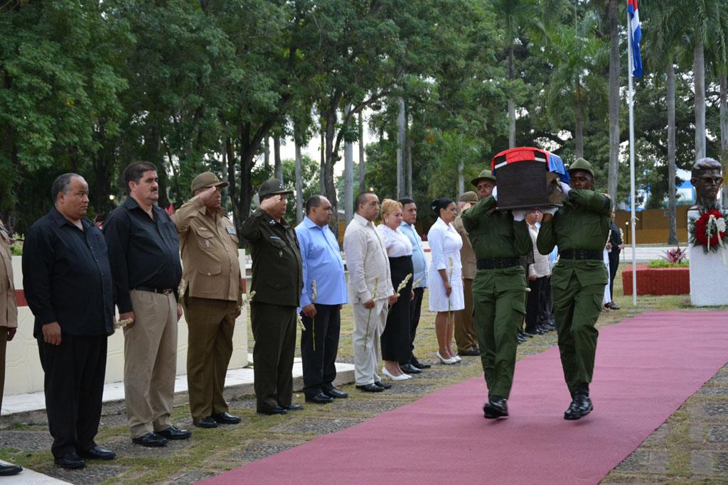 Despedida de Fidel en Bayamo 1