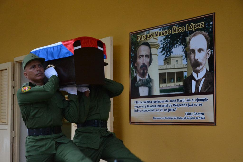 Despedida de Fidel en Bayamo 2