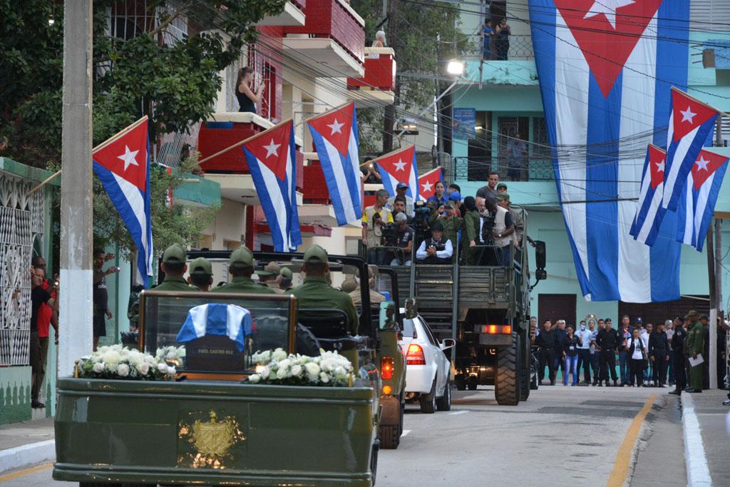 Despedida de Fidel en Bayamo 3