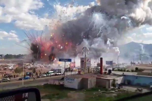Explosiones en México 5