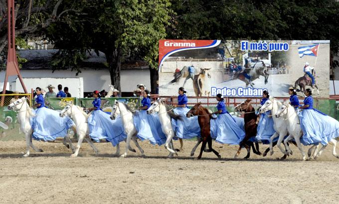 Equipo Las Bayamesas en Granma, el arte de las escaramuzas