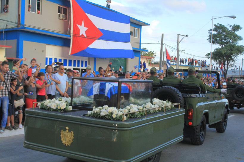 Fidel en Holguín