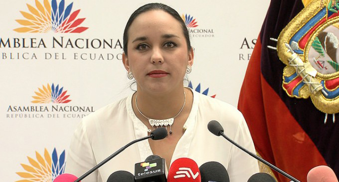 Asiste Ecuador a Cumbre Mundial de Presidentas de Parlamentos