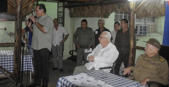 CUBA-LA HABANA-ENTREGAN PREMIO UTILIDAD DE LA VIRTUD A GUILLERMO GARCÍA FRÍAS