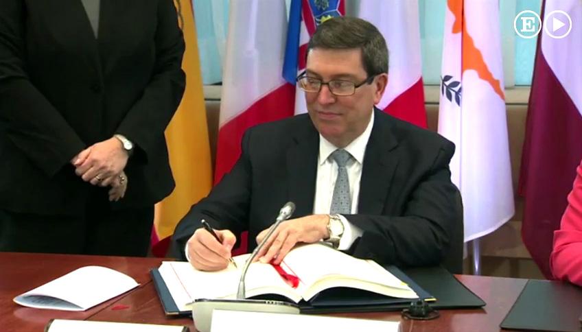 Cuba y UE suscriben Acuerdo de Diálogo Político y Cooperación (+ fotos y video)