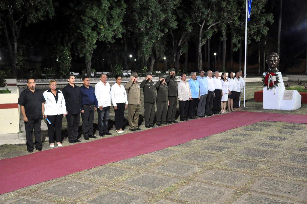 Homenaje a Fidel en el Ñico López