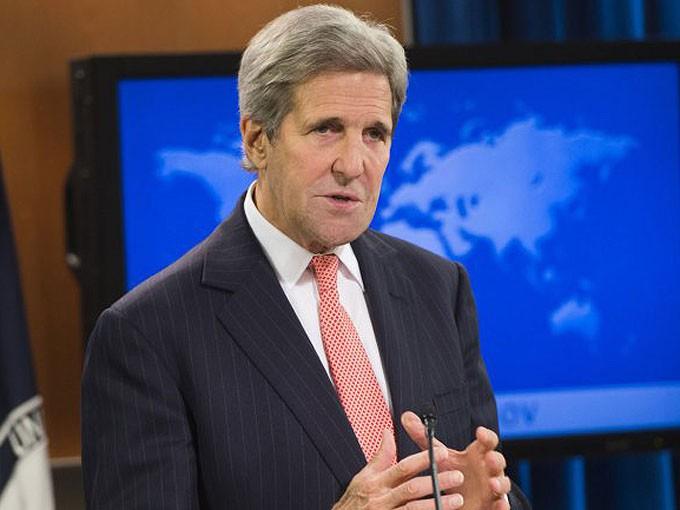 Jhon Kerry EE UU