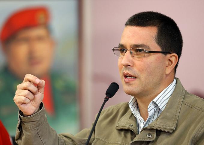 Venezuela mostrará fuerza popular el 17 de diciembre, asegura Arreaza