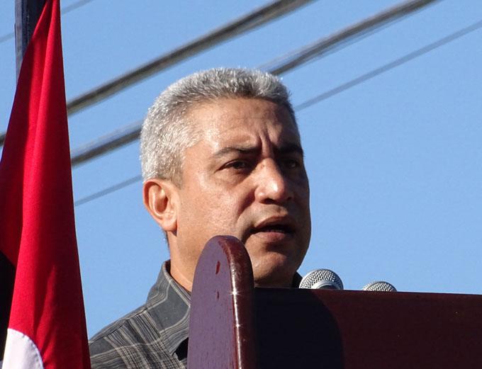 José Manuel Maceo Martí, primer secretario del Partido Comunista de Cuba en Bayamo FOTO/ Luis Carlos Palacios