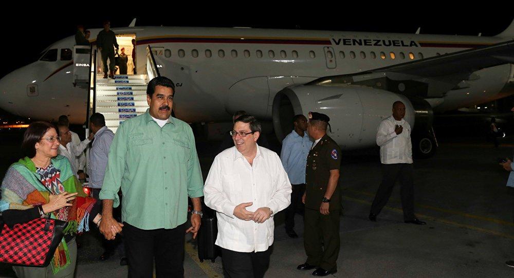 En Cuba Nicolás Maduro para celebrar los 12 años del ALBA