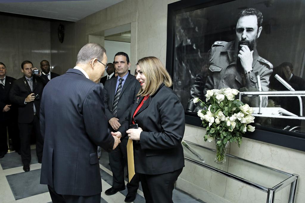 Cuba agradece solidaridad mundial en Nueva York tras deceso de Fidel