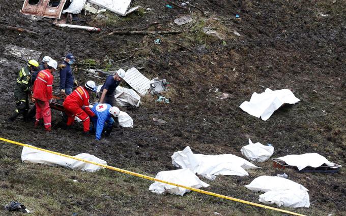 Completarán repatriación cuerpos a Brasil victimas desastre aéreo