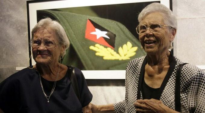 Las hermanas Dinorah y Raquel siempre leales a Fidel
