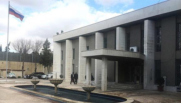 Denuncia Rusia nuevo ataque contra su embajada en Damasco