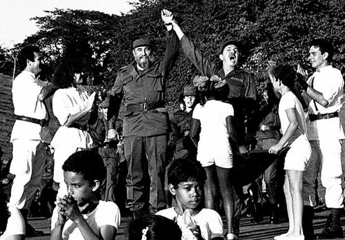 Reencuentro de Fidel y Raúl en Cinco Palmas, Media Luna