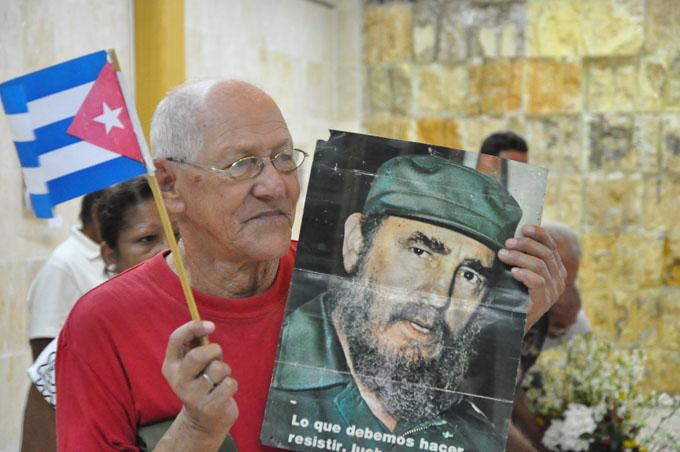 Amor y compromiso con  Fidel en Granma