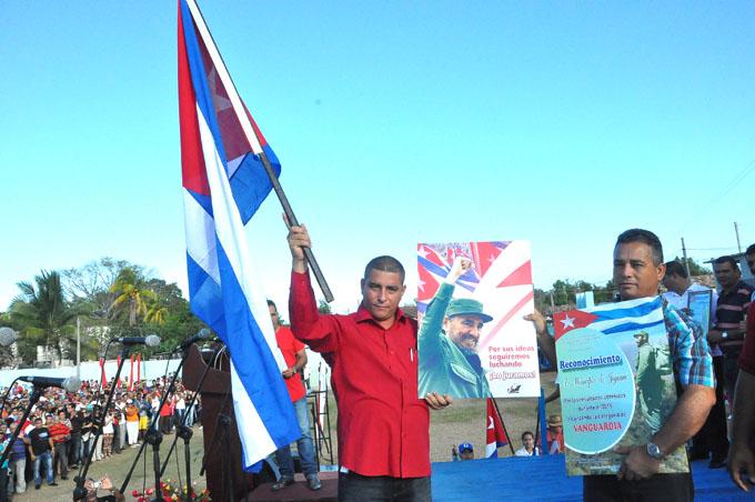 Jiguaní sobresalió en el Año 58 de la Revolución en Granma