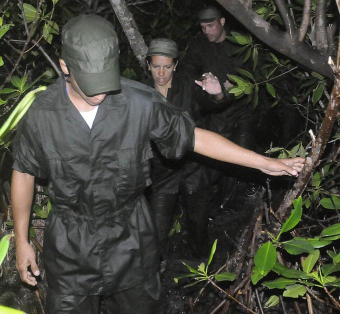 Jóvenes expedicionarios protagonizan desembarco FOTO/Luis Carlos Palacios