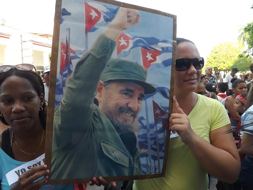 Fidel palpita en el corazón de Manzanillo