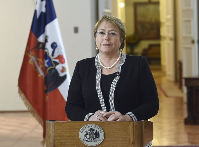 Presidenta chilena viajará a zona afectada por terremoto