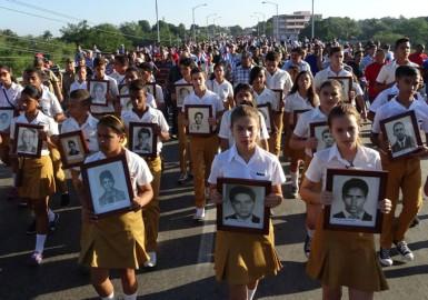 Tributo a los mártires caídos en otras tierras (+ fotos)
