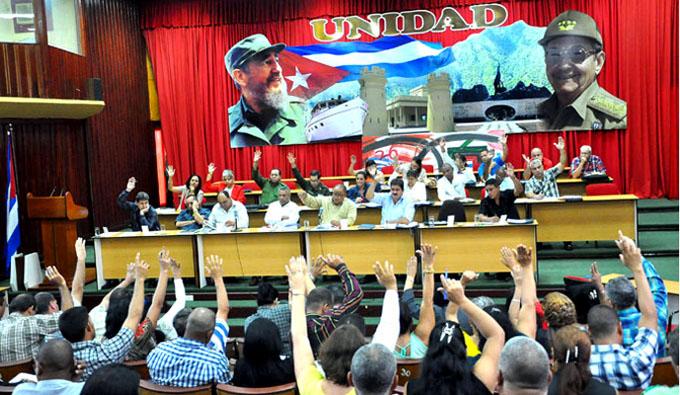 Sesionó pleno del Partido Comunista de Cuba en Granma
