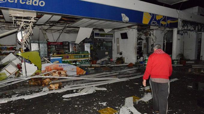Un muerto y decenas de heridos en Uruguay por tormenta