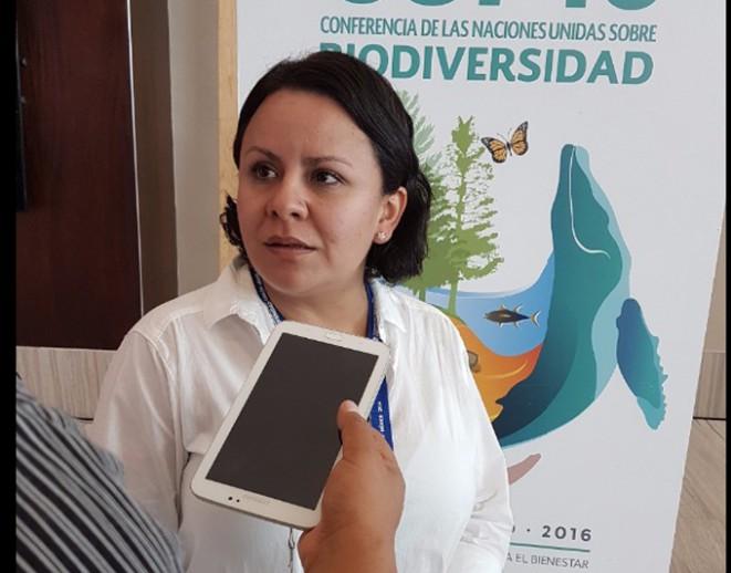Aleira Lara, titular de la Campaña de Agricultura de Greenpeace