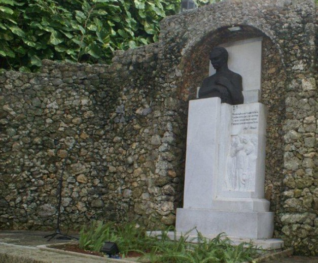 Busto de José Martí en el Museo de la Fragua martiana